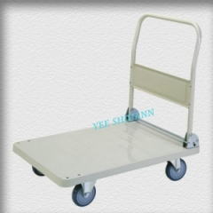 Large folding platform trolley
