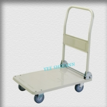 Small folding platform trolley