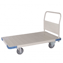 Heavy duty platform trolley