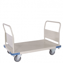 Double Handle Heavy duty platform trolley