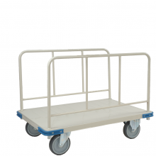 Side Handle Heavy duty platform trolley