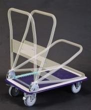 摺疊平板推車附煞車輪