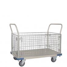 Heavy duty cage platform trolley
